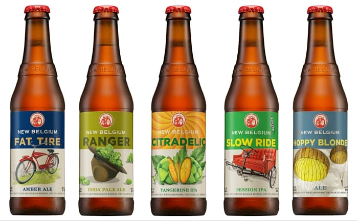 new belgium brewing New belgium brewing company is the eighth largest beer manufacturer in the united states over the last five years, volume has grown at a 10% cagr, reaching over 945,000 barrels in 2014, which represents 4% share of the us craft beer market (1, 2.